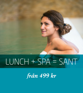 Lunch+Spa = SANT